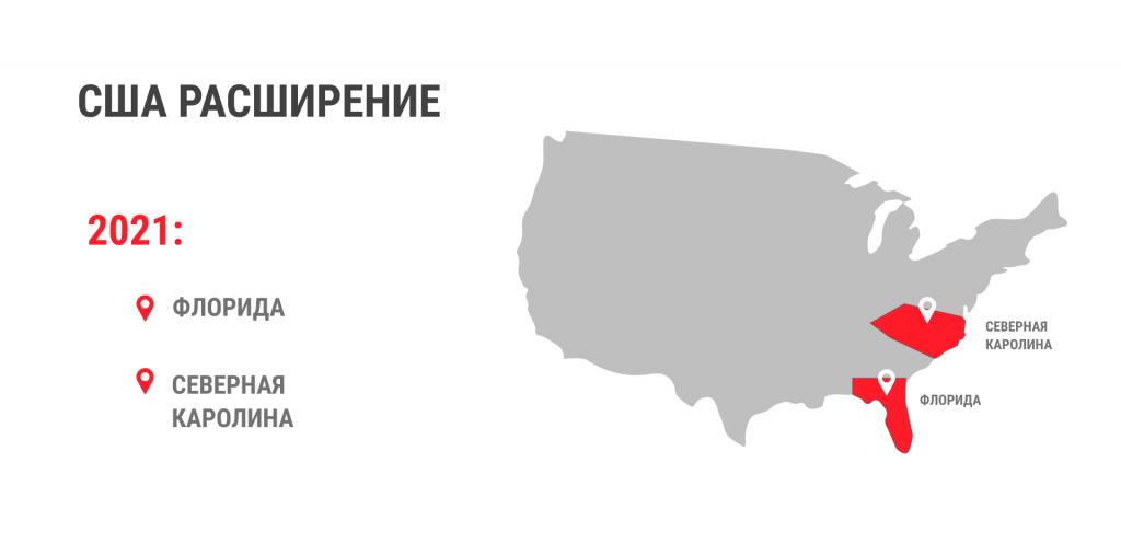 Х100 Суши Суши Мастер в 2021 году запланировал старт экспансии на территории США