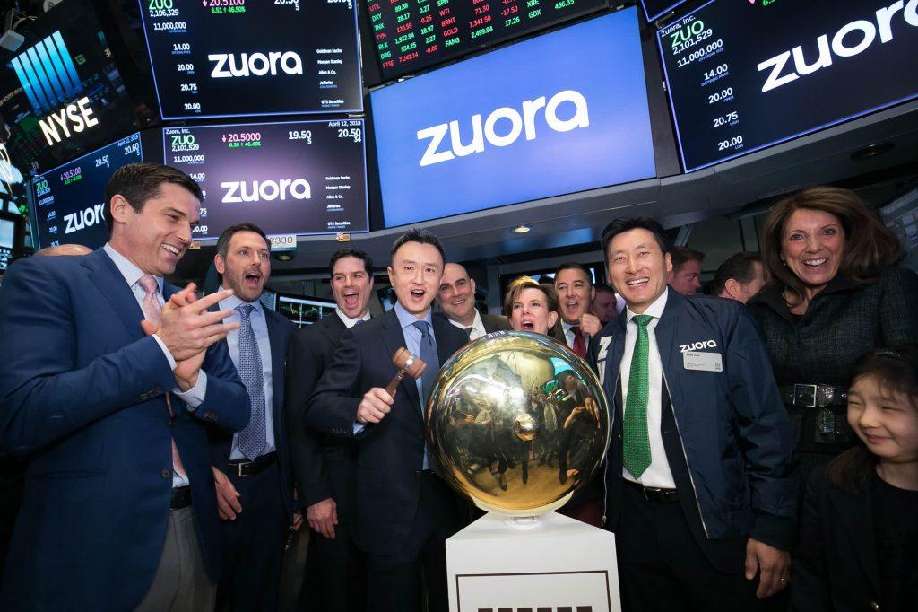 Zuora выросла более чем на 20%